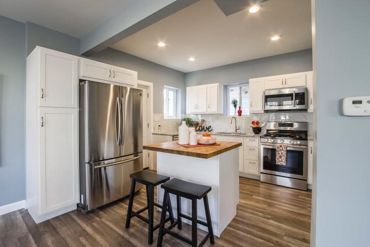Apartment kitchen needs property manager maintenance